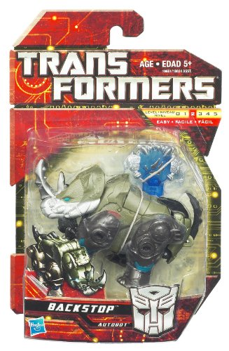 Transformers Scout Class Action Figure Backstop