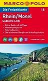 MARCO POLO Freizeitkarte Rhein, Mosel, Südliches Eifel 1:110.000