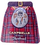 Campbells Shortbread Kilt Tin 150 g