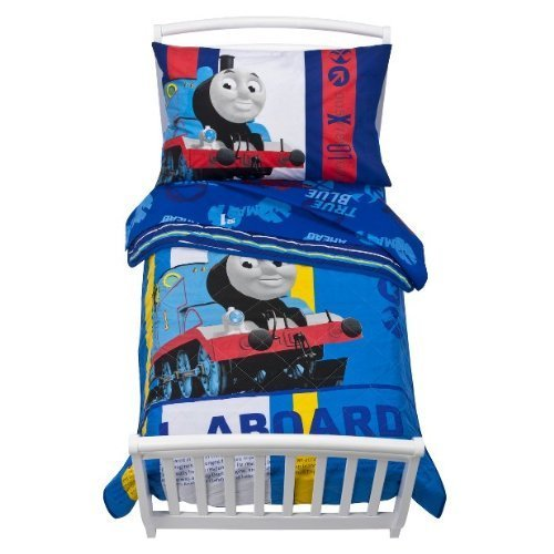 Thomas & Friends Thomas the Train RR Crossing Toddler Bedding Set