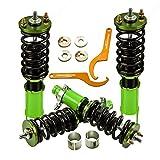 Coilovers Kits for Honda Civic ED CR-X 88-91/Integra 94-01/Civic 96-00 Suspension Shock Absorber Strut