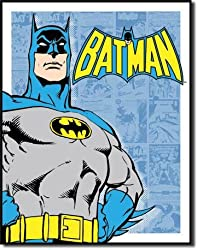 Batman - Retro Panels Tin Sign 12.5&quot;W x 16&quot;H