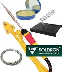 Buyyart Soldering Iron 25w Solder Wire , Stand , Paste