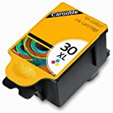 KODAK 30CL Tri-Colour Compatible Ink Cartridge (High Capacity) - For use with Kodak ESP 1.2 3.2 C100 C110 C300 C310 C315 Printers by Carooble