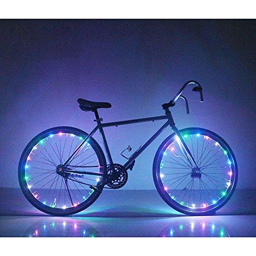 Soondar GEC0041 Multicolored 20-LED Bicycle Bike Rim Lights (Rim Bike compare prices)
