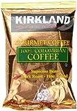 Signature 100% Colombian Coffee, Supremo Bean Dark Roast Fine Grind, 42/1.75 oz Pouches