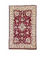 L'Eden del Tappeto Alfombra Kashmirian F/Seta Rojo / Beige 148  x  92 cm