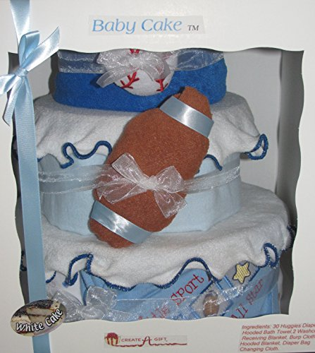 Create-A-Gift Little Sport All Star Baby Cake Gift Set