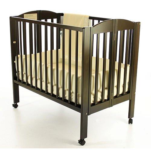 Dream On Me 3In1 Portable Folding Convertible Crib Espresso front-1047954