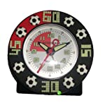 JACQUES FAREL Childrens Football Alarm Clock - motives glows in the dark