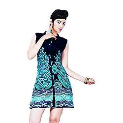 Kaya Women's Cotton Kurti (005KUCO004_Multi-Coloured_X-Large)