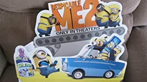 Despicable Me 2 Die-Cut 3D Candy Display Topper 15 Inches Long, 13 Inches High 2013