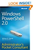 Windows PowerShellTM 2.0 Administrators Pocket Consultant (Administrator's Pocket Consultant)
