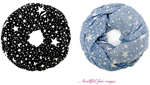 accessu-Echarpe-Foulard-pour-Femme-Fashion-Starry-Sky-Star-Design-two-colorways