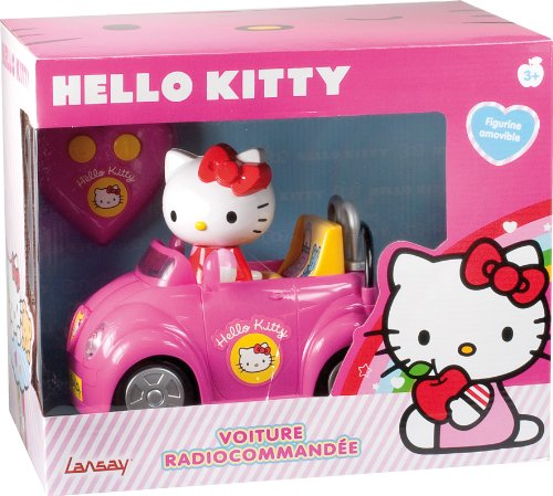 voiture radiocommand e hello kitty. Black Bedroom Furniture Sets. Home Design Ideas