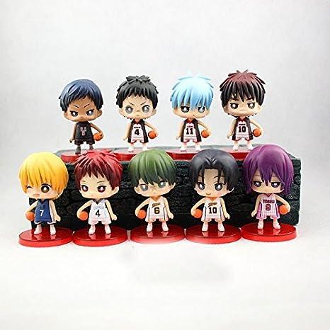 9 Mini Figurines Kuroko's Basket
