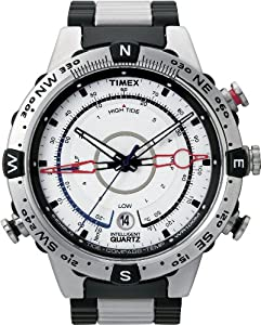 Timex Men's T2N722 Intelligent Quartz Adventure Series Tide Temp Compass Bracelet Watch