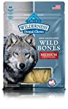Blue Buffalo Wilderness Wild Bones Regular Bones, 10 oz.