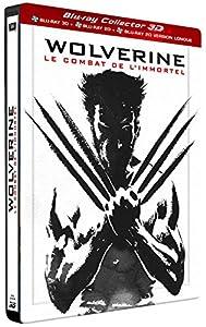 Wolverine : Le combat de l'immortel [Édition Collector Combo Blu-ray 3D + 2D + 2D Version Longue boîtier SteelBook]