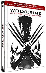 Wolverine : Le combat de l'immortel [Édition Collector Combo Blu-ray 3D + 2D + 2D Version Longue boîtier SteelBook]