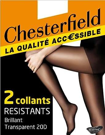 Chesterfield Resistant - Collants - Uni - Femme - Noir - 5