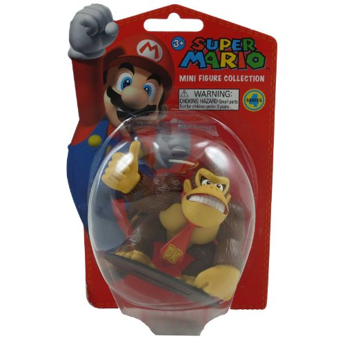 Super Mario Bros. 2-inch Mini-figure Series 4~DONKEY KONG - 1