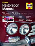 Haynes Triumph Spitfire, GT6, Vitesse & Herald Restoration Manual Including a De-Mister Pad and 1 Car Air Freshner