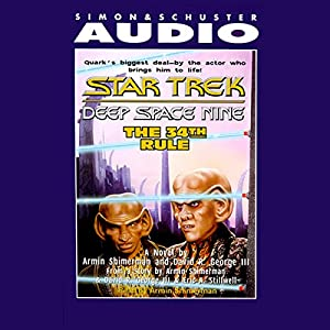 Star Trek, Deep Space Nine: The 34th Rule (Adapted) Hörbuch