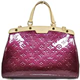 Louis Vuitton® BREA VERNIS MONOGRAM LEATHER HANDBAG w/ Shoulder Strap. Made in France