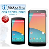ITALKonline S-Protect (Pack of 5) 3 Layer Technology LCD Screen Guard Protector with Micro Fibre Cleaning Cloth For LG Google Nexus 5 (2013)