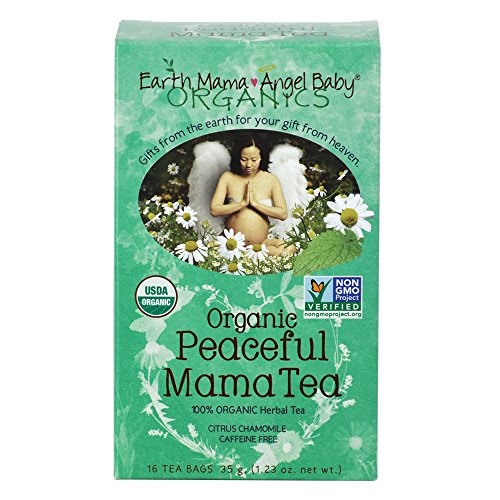 Organic Peaceful Mama Tea for pregnancy and parenting tranquility (Pack of 3)