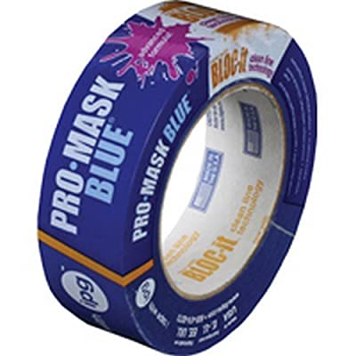 Intertape Polymer Group 9532.1.5 1-1/2 Inch x 60-Yard Blue Masking Tape - Quantity 20