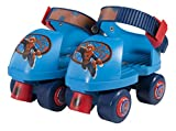 Ultimate Spiderman Kids Rollerskate, Junior Size 6-12 with Knee Pads