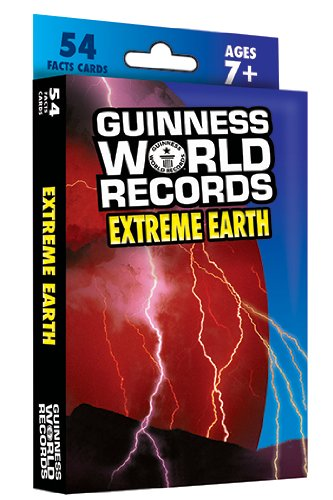 Carson-Dellosa Guinness World Records Extreme Earth Flash Card