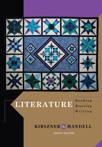 Literature: Reading, Reacting, Writing (Kirszner Portable Literature compare prices)