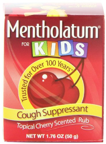 Mentholatum Ointment, Cherry Chest Rub For Kids,