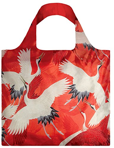 Bag Woman's Haori / White and Red Cranes