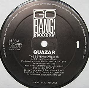 Quazar - The Seven Stars / Day-Glo (Remix)