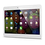 "Excelvan 10.1"" 3G TabletPhone -- HD Dual SIM Android 4.4.2 1GB/8GB Dual Core Bluetooth GPS WIFI Tablet PC, Supporta SD/TF Card, Video Call (Bianco)"