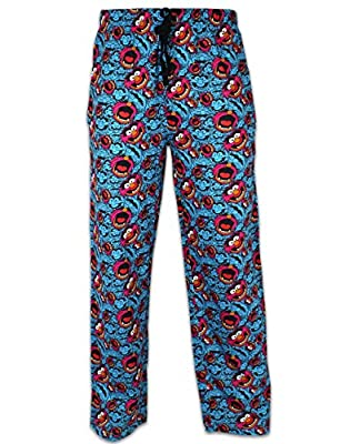 Character Mens' The Muppets Animal Lounge Pant