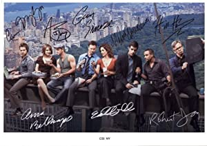 CSI New York NY Signed Autographed A4 Photo Print Poster
