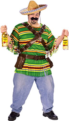 Fun World Costumes Tequila Pop N Dude Plus Size