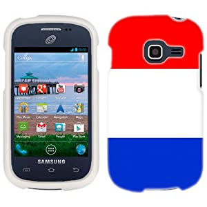 Amazon.com: Samsung Galaxy Centura France Flag Phone Case Cover: Cell