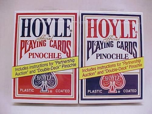 Hoyle Pinochle Playing Cards (Pack of 2)