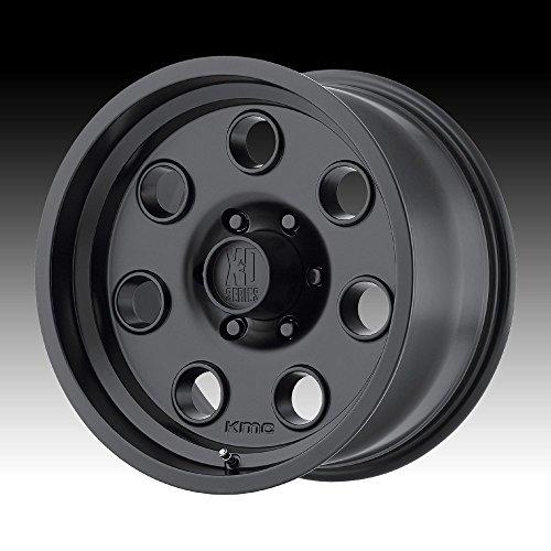 Xd series by kmc wheels xd300 pulley satin black wheel for Xd garden design