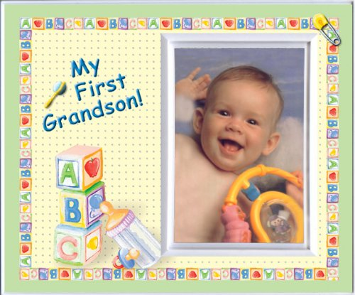 My First Grandson Picture Frame Gift