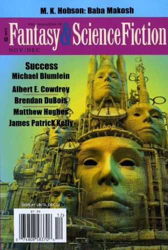 Fantasy and Science Fiction (print edition)