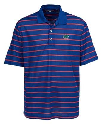 NCAA Florida Gators Feed Stripe Polo by Oxford
