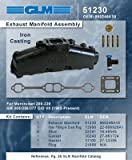 MERCRUISER EXHAUST MANIFOLD 5.0L & 5.7L (CAST IRON) | GLM Part Number: 51230; Mercury Part Number: 860246Q11