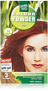 Henna Plus Permanent Hair Colour Powder - Red